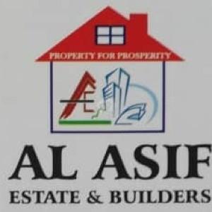Al Asif Estate & Builders Logo